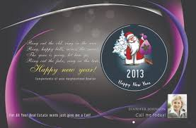 real estate new years cards power real estate marketing new year postcards happy