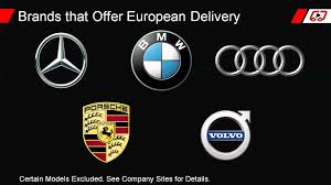 european delivery audi european delivery get a free vacation every you buy a bmw