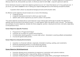 resume entry level objective objectives examples for resumes resume objective entry level