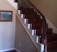Replacing A Banister And Spindles Wrought Iron Stair Balusters Dallas Wrought Iron Stair Spindles