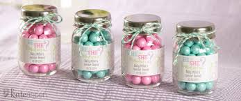 jar baby shower ideas gender reveal party ideas food jar shower favors and favors