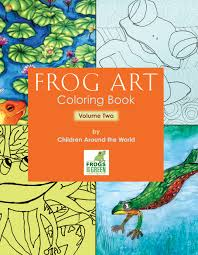 Coloring Books Frogs Green