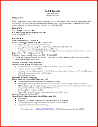 Resume Sample For Social Worker by Social Work Resume Sample Objective Youtuf Com