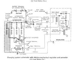 what is the proper wiring for a 1966 ford thunderbird alternator