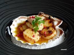 cuisiner st jacques coquilles de st jacques poelees sauce au foie gras côté soleils