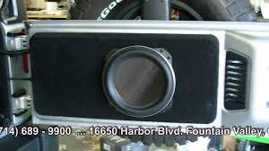 jeep audio crazy stereo custom box jeep wrangler 2012 youtube
