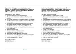 shakespeare u0027s othello resources and worksheets by lowrip1ckle