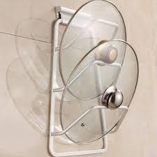 aliexpress com buy aluminum kitchen cabinet door pot pan lid
