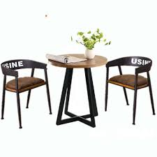 coffee table and stool set western fast food cafe chairs negotiating tables and chairs balcony