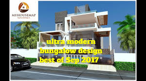 bungalow design ultra modern bungalow design best of sep 2017 house design youtube