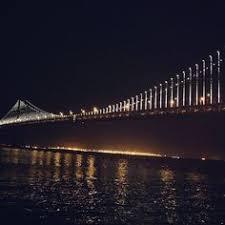 Bay Bridge Light Show San Francisco Beaches Baker Beach San Francisco Pinterest
