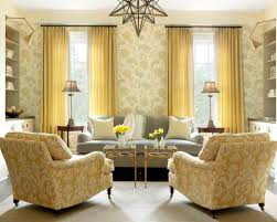 Decorative Floral Wallpaper For Eclectic Living Room Decorating - Wallpaper for family room