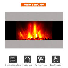Wall Mounted Electric Fireplace Heater Wall Mounted Electric Fireplace Heater Stove Heat Powered Stove