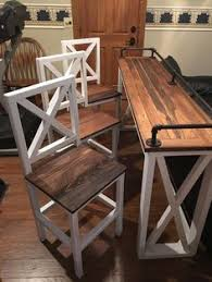 Rustic Bar Table Rustic Bar Height Table By Reimaginedwoodcraft On Etsy Tay S