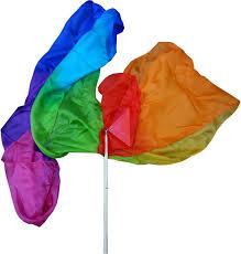 Spiritual Warfare Flags Amazon Com Danzcue Metallic Praise Flag With Rod Sports U0026 Outdoors
