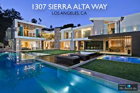 luxury residence 1307 sierra alta way los angeles ca the
