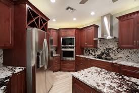 what backsplash looks with cherry cabinets 10 kitchen backsplashes that go above and beyond florida