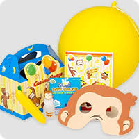 curious george party curious george party supplies decorations birthday in a box