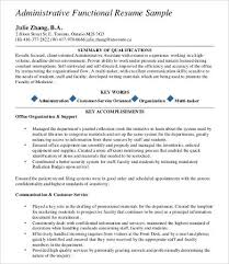 Key Accomplishments Resume Examples by Professional Resume Samples 9 Free Word Pdf Documents Download