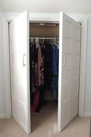 Bi Fold Doors Closet Bi Fold To Paneled Door Closet Makeover Remodelaholic