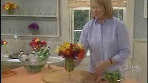 video how to make small flower arrangements martha stewart