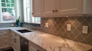 Mosaic Tile For Kitchen Backsplash Taupe Arabesque Glass Mosaic Tiles Rocky Point Tile Glass And
