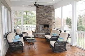 Screen Porch Fireplace by Fm Realty Screened In Porch With Fireplace Dact Us