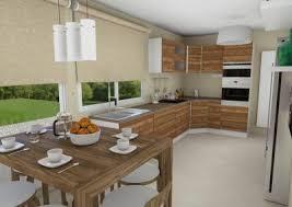 projet cuisine 3d aménagement 3d d une cuisine micaza fr projets réaménagement
