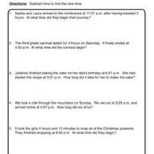 collections of free printable math word problem worksheets for 2nd