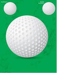 free vector golf ball vector download