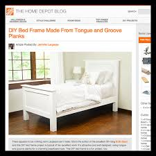 How To Build A Twin Bed Frame Build A Diy Twin Bed U2039 Build Basic