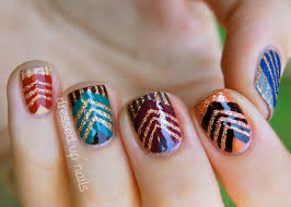instagram lifeisbetterpolished cool fall nail design fall