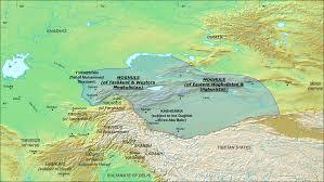 Yuan Dynasty Map Khanate Moghulistan In 1490