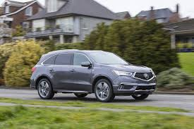 Acura Mcx Review 2017 Acura Mdx Sport Hybrid Delivers The Goods