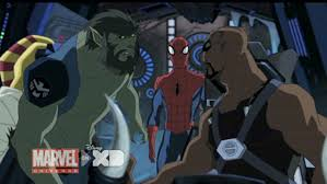 ultimate spider man u0027 recruits nick fury u0027s team for halloween