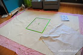 How To Make A Area Rug by Learn How To Make An Area Rug For Under 150 Stencil Stories