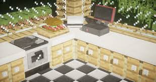 Minecraft Furniture Kitchen Mods