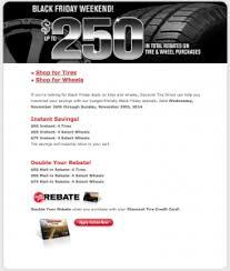 discount tire black friday 2017 sale deals sales