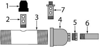 Sandblast Cabinet Parts Sandblasting Gun 1 Metering Valve Sandblaster Parts