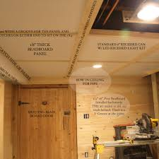 basement ceiling ideas for low ceilings varyhomedesign com