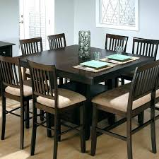 counter height table sets with 8 chairs high top kitchen table set image of amazing counter height dining