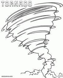 tornado safety coloring pages virtren com