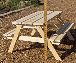 incredible child picnic table plans and opulence plans for kids