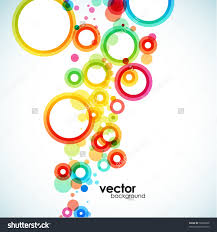 abstract color logo design cycle vector logotype icon loversiq