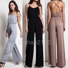 dress jumpsuit boutique jumpsuit jumper dress criss cross back dress pant from