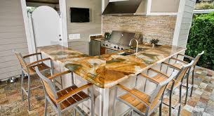 outdoor kitchen countertops ideas outdoor kitchen countertops orlando adp surfaces