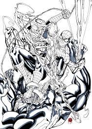 spiderman venom carnage preview francescogerbino