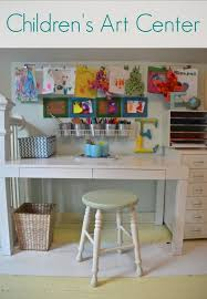 how to make a child s desk how to create a small space art nook for kids
