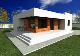 small contemporary house designs single story modern house plans