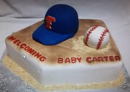 sports cakes 1 baseball